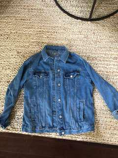 Top shop Moto denim jacket size 8. Perfect condition, worn twice.