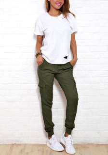 Army Green Trousers / Pants