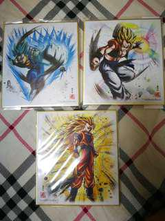 龍珠 色紙 shikishi art 5 散款