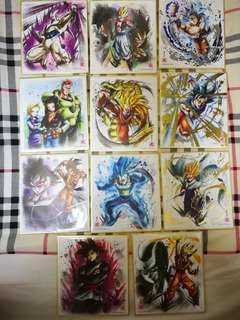 龍珠色紙 shikishi art 6 散款
