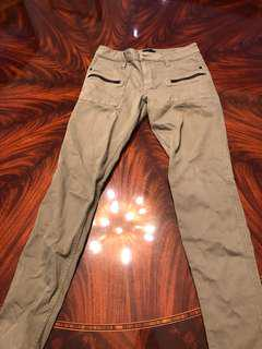 Sanctuary denim Ace Jean. Size 28. Khaki Green.