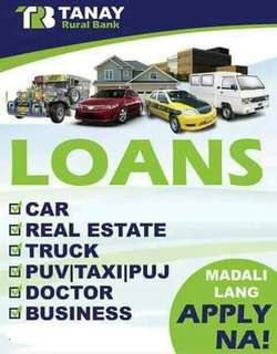 MAG LOAN NA! LOW INTEREST RATE!