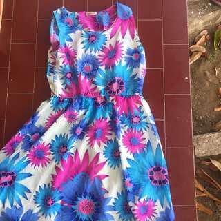 PRELOVED Panelli Flower Dress ORIGINAL