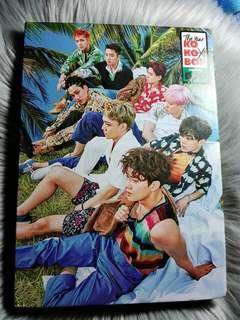 EXO The War Kokobop B Ver Korean Version
