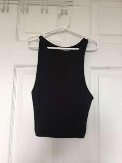 ZARA Ribbed Cropped Tank