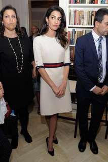 Amal Clooney's Gucci Dress Size S