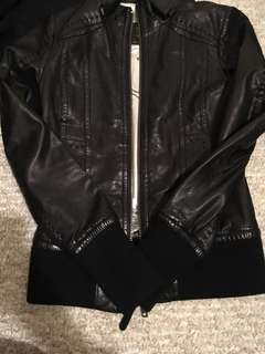Aritzia Mackage Leather Jacket XS
