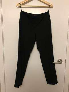 Topshop Black Trousers (Size 4)