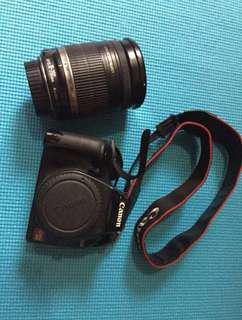 Canon Rebel xs  with 18-200 mm lens