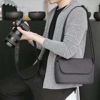 Water-resistant fashionable camera bag