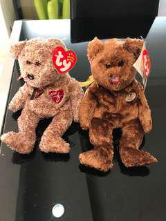 Ty collectible beanie bear