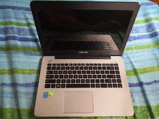 ASUS K455L 4GB RAM 1TB Intel I5 NVIDIA GEFORCE