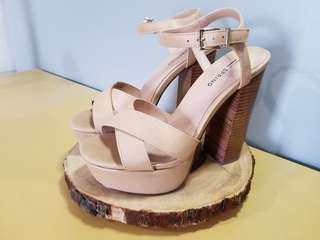Spring platform sandals - 7.5