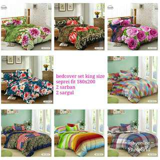 Bedcover set king size 180x200 kendra (2709)