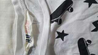 White Skate Board Shirt.