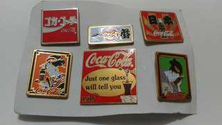 可口可樂精品襟章