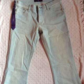 Victoria beckham stonewashed jeans