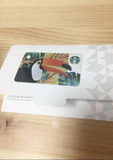 Starbucks 2018 tropical bird - japan