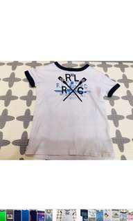 🚚 POLO 白色T-恤(適合年齡4歲)衣長:47公分