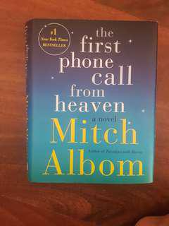 First Phone Call Mitch Albom Harbound