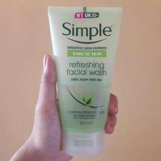 Simple Facial Wash