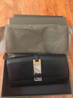 CHARLES& KEITH Wallet (Black)