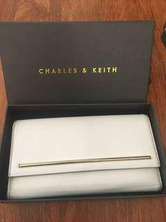 CHARLES & KEITH Wallet (White)