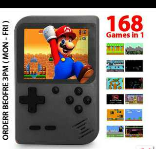 🔥HOT ITEM🔥 168 Games In 1 Super Mario Retro 2.8 Inch LCD 8 Bit AV Out Portable Console