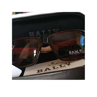 100% 新 BALLY Red Tortoise Brown 色鏡面太陽眼鏡 Sunglasses