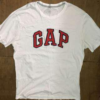 Gap Logo White Tee