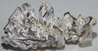 7.38g 99.99% Crystalline Silver nugget