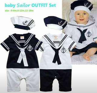 Baby Sailor outfit (UNISEX)