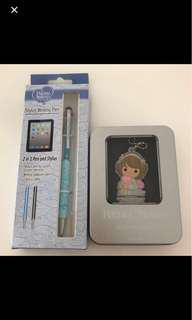 8gb USB flash drive + stylus writing pen from precious moments
