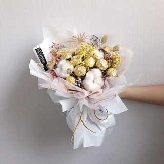 Chocolate Flower Bouquet   Flower Bouquet   Candy Flower