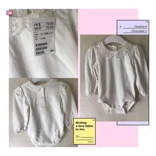 H&M 全新 女仔長袖夾衣 size80