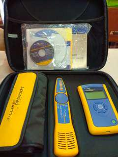 Fluke network linkrunner pro kit