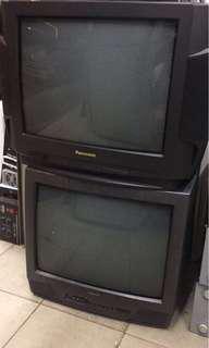 14-21 吋舊式電視機 (能正常使用)