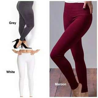 Premium celana legging kaos (jumbo)