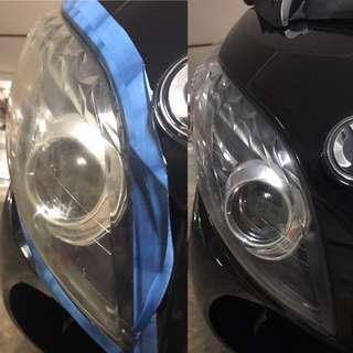 MaxSym headlight restoration