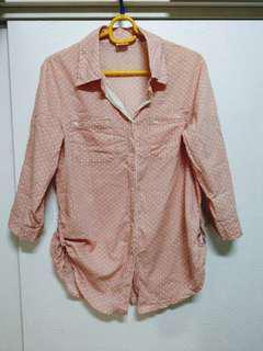 🚚 出清七分袖造型襯衫(F)