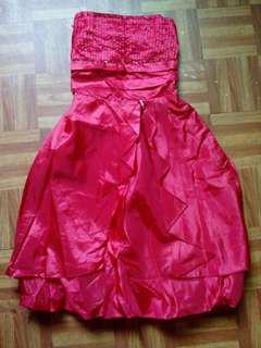 Prom Dress (Red)