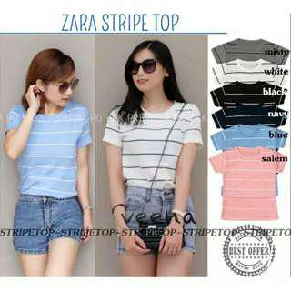 Zar stripe top