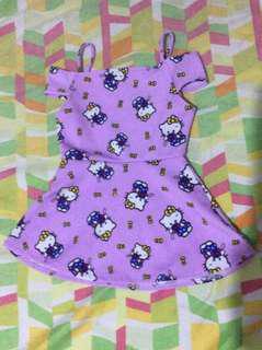 Hello Kitty print dress