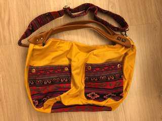 Pierre Cardin Weave Bag 民族織布袋