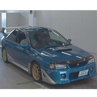 1997年 Subaru GC8 Type R STI (HK MotorCity 汽車代購服務)
