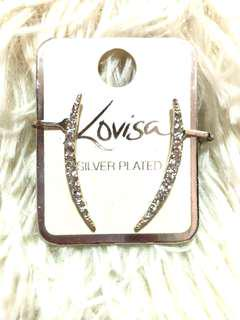 Lovisa Silver Plated Earring Ear Cuff