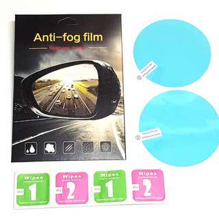 anti fog film for sedan/circle