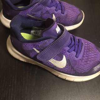Nike Purple Unisex Runners 17cm