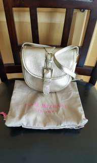 Isaac Mizrahi small leather crossbody bag