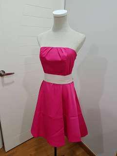 Lovely Pink Tube Dress #mcsfashion #BFfashion